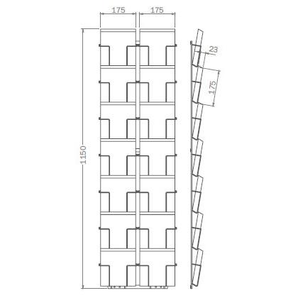 Sonderformat - 175mm x 175mm - 14x Quadratkarte – Q14
