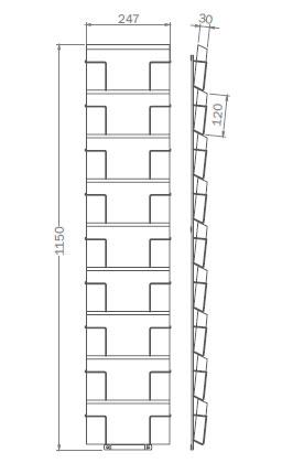 DIN LANG - bis 120mm x 247mm - 9x Querformat – G9