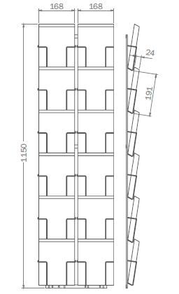 DIN C5 - 162mm x 229mm - 12x Hochformat - G12