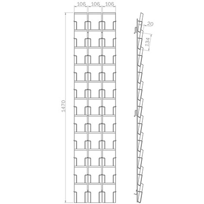DIN A6 | 105mm x 148mm - 33x Hochformat - B 33 PK/HF