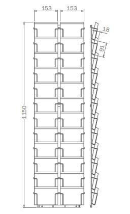 DIN A6 - 105mm x 148mm - 24x Querformat – PKT24