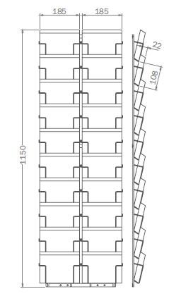 DIN B6 - 125mm x 176mm - 20x Querformat – G20