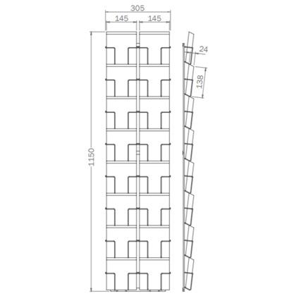 Sonderformat - 138mm x 138mm - 16x Quadratkarte – Q16