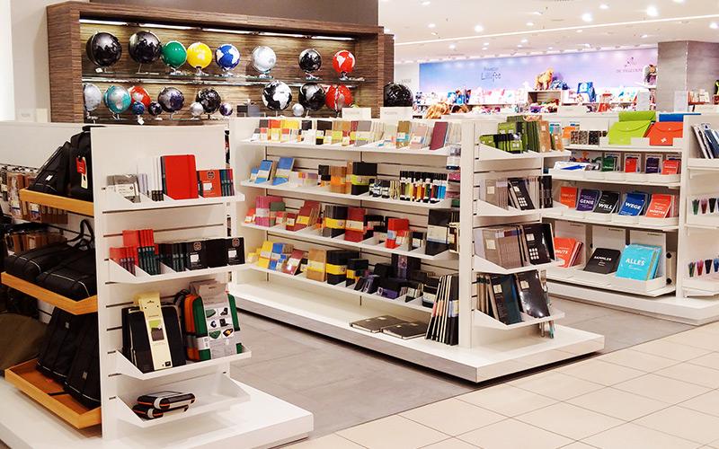 Mittelraummöbel zur Warenpräsentation