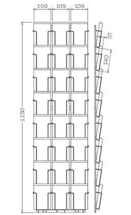 DIN A6 - 105mm x 148mm - 24x Hochformat – PKT124