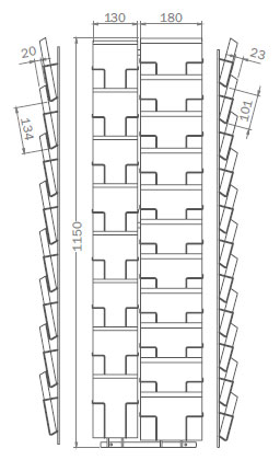 DIN B6 - 125mm x 176mm - 8x Hochformat, 11x Querformat – PKT19
