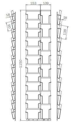 DIN A6 - 105mm x 148mm - 12x Hochformat, 8x Querformat - PKT8/12