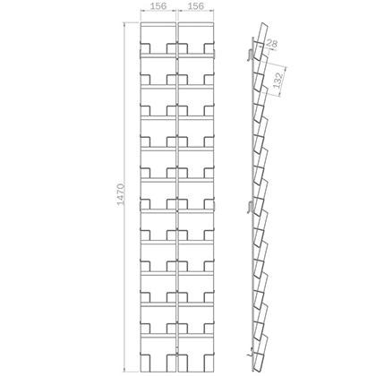 Quadratkarte | 22x 150mm x 150mm | B 22 Q