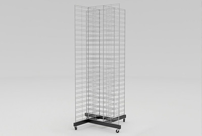 Gittersystem Ladenbausystem