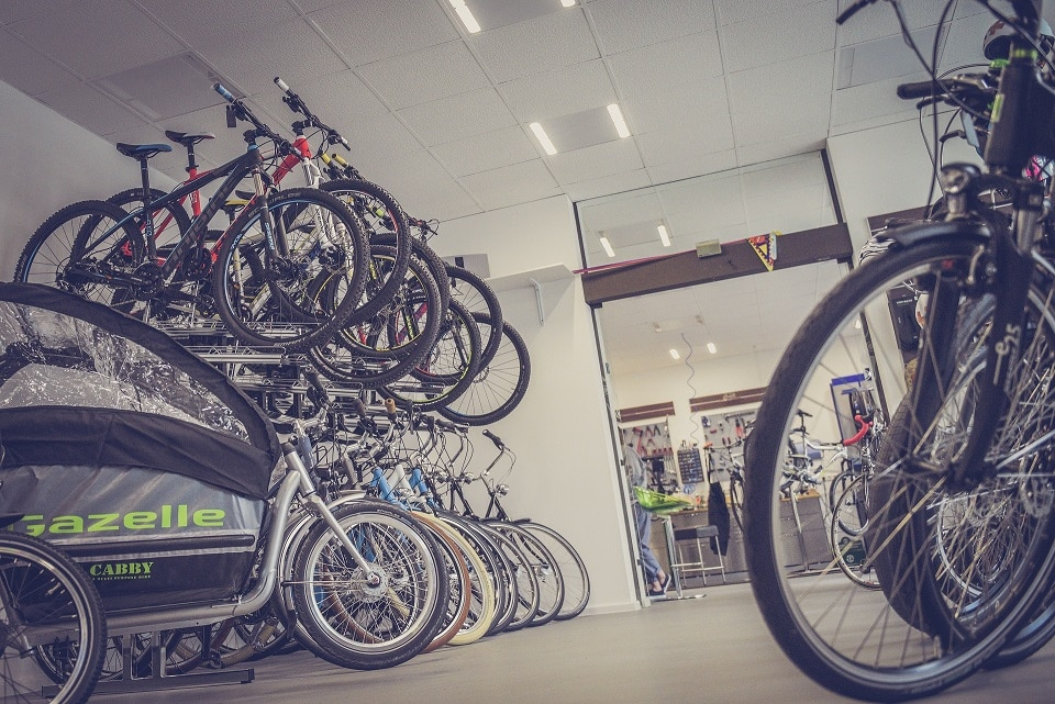 Fahrradladen eröffnen